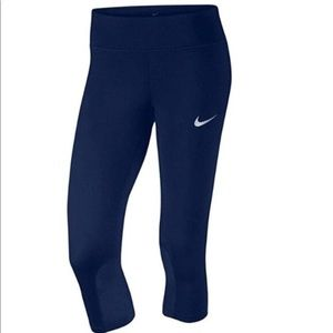 Nike Women's Epic Run Crop Tights Style# 938602 S